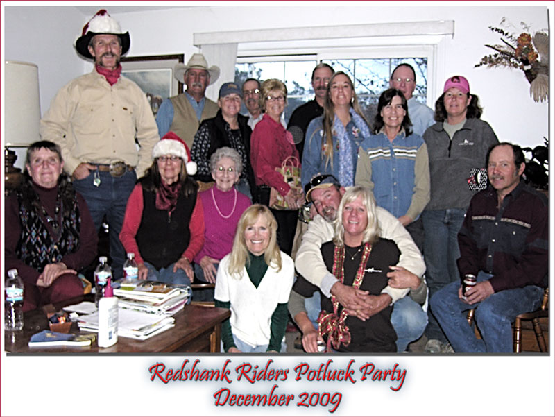 Redshank Riders Party 2009
